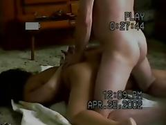 Homemade painal -- wife cries and begs but he wont stop