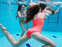 Bikini, Bikini, Lesbian, Pool, Russian, Strip