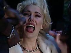 Bukkake, Blonde, Bukkake, Cum, European, Gangbang