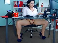 Office, Amateur, European, Office, Secretary, Sex
