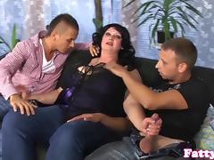 3some, BBW, Big Tits, Boobs, Chubby, Chunky