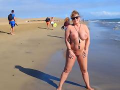 Beach, Beach, Holiday, Nudist