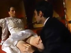 Anal, Anal, Assfucking, Bride, Brunette, Stockings