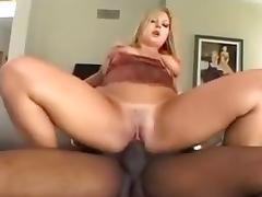 Blonde, Big Tits, Blonde, Hardcore, Interracial