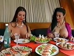 Two busty pierced sluts having fun