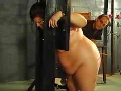 Flogging thick slaves