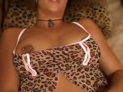 Pussy fingering in her sexy lingerie