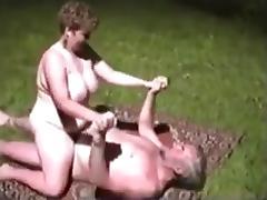 Old Man, Big Tits, Fucking, Grandpa, Mature, Old Man