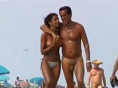 Horny Amateur clip with Public, Beach scenes