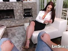 Feet, Big Tits, Boobs, Feet, Fetish, Footjob