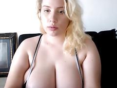 Big titty white girl takes bbc