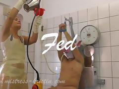 Slave, BDSM, Femdom, German, Mistress, Slave