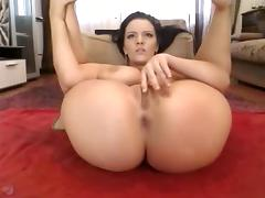 Exotic Amateur video with Brunette, Ass scenes