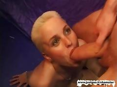 Blonde, Big Cock, Blonde, Fucking, German, Hairy