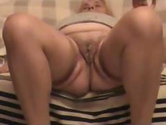 grandpa and grandma play with cum