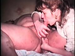 Vintage Amateur Blowjob Cum in Mouth