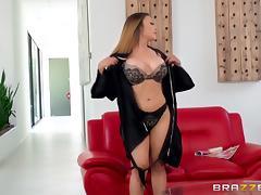 Bra, Big Tits, Bra, Drilled, Massage, MILF