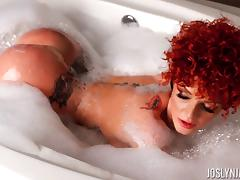Bathing, Ass, Bath, Bathing, Bathroom, Redhead
