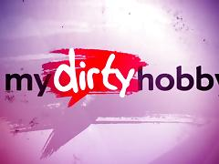 My Dirty Hobby - Busty MILF get rammed deep!