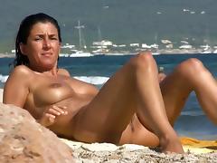 Beach, Beach, Nudist, Pussy, Teen, Vagina