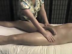 Massage, Amateur, Big Cock, Cumshot, Handjob, Massage