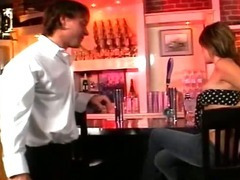 Horny Slut Cheats With The Bartender