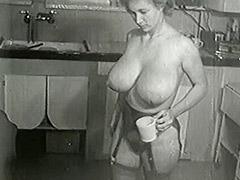 1950, Blonde, Classic, Fetish, Hairy, Hardcore