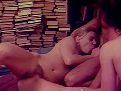 1960, Blowjob, Classic, Group, Hairy, Softcore