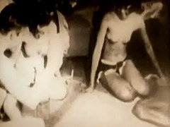 A Hot Sex Game of Strip Dice 1950