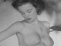 1950, Babe, Brunette, Classic, Fetish, Mature