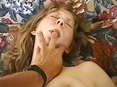 This Hairy Debutante Wanted a Hot Blowjob and Her Face Awarded with Hot Sperm