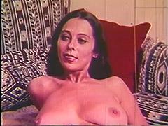 Historic Porn, Babe, Big Cock, Blowjob, Brunette, Classic