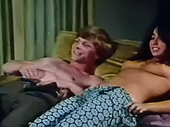 Young Couple Fucks at House Party 1970