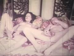 Two Girls Getting Orgasms the Lesbian Way 1970