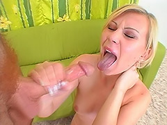 All, Blonde, Blowjob, Cumshot, Hairy, Russian
