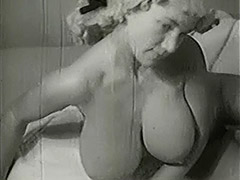 1950, Blonde, Classic, Double, Fetish, Hairy