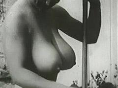 1950, Babe, Classic, Outdoor, Pornstar, Teen