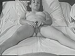 1950, Amateur, Babe, Brunette, Classic, Hardcore