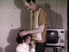 Amazing Cumshot in Young Mouth 1970