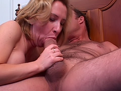 British Babe MILF's Massive Unshaven Vagina is Being Carefully Fucked by a Cunt Hungry Boy