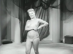 Amazing Blonde Dancing and Undressing 1950