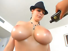All, Big Tits, Doggystyle, Oil, Pornstar, Sucking