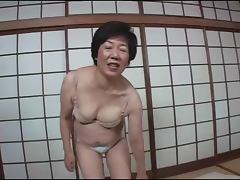 asian-granny - Asian granny gets handled by two dudes and gets nailed