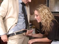 nice office girl