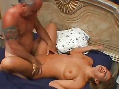 Older Guy Fucks Curvy Amateur