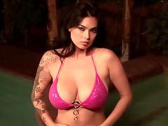 All, Babe, Big Tits, Bikini, Erotic, Oil