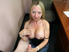 Blonde MILF Seduces Her Friends Son