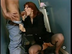 French, Anal, French, Stockings