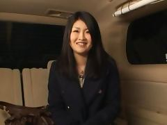 Hot POV Blowjob by Lovely Japanese Girl in Limousine