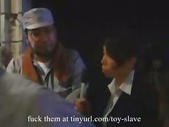 Asian forced orgasm bondage